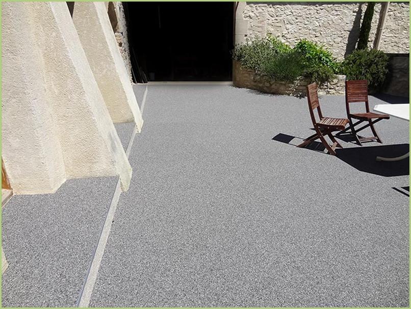 patio terrasse resine couleur bardiglio chiaro