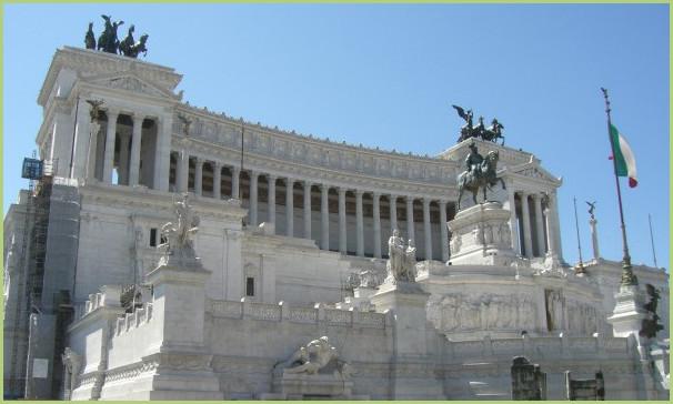 Le monument Vittoriano de Venise – Monument à la gloire d'Emmanuel II