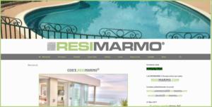 Notre site Internet Italien resimarmo.it