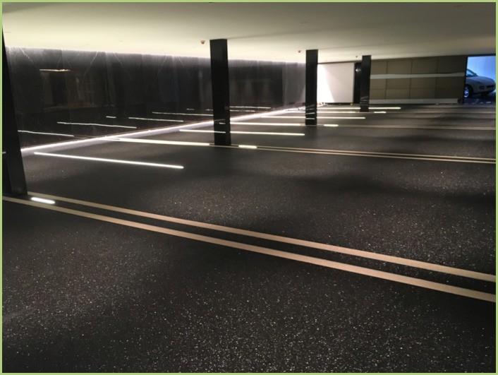Parking sous terrain en suisse