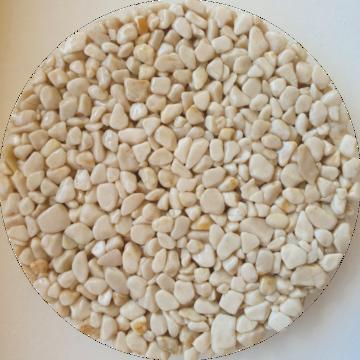 Les couleurs du granulat de marbre - Botticino