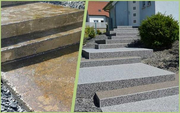 Exemple de rénovation d'escalier