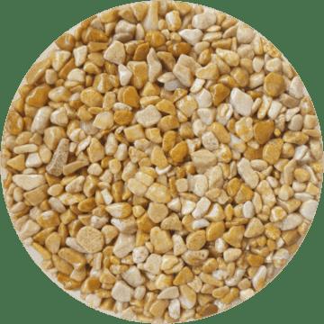 Les couleurs du granulat de marbre - Giallo mori