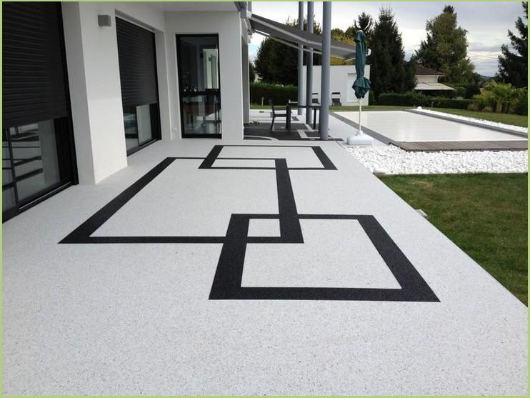 Revêtement terrasse piscine (Luberon)
